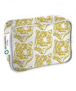 Ensiapulaukku Arkidesign tiikeri valko kulta