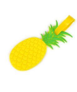 ananas matkalaukun nimikyltti