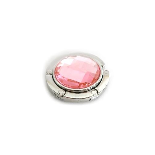 laukkukoukku vaaleanpunainen